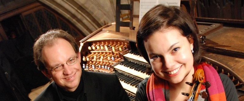 From Bach to Piazzolla: Peter Van de Velde (organ) and Nadja Nevolovitsch (violin)