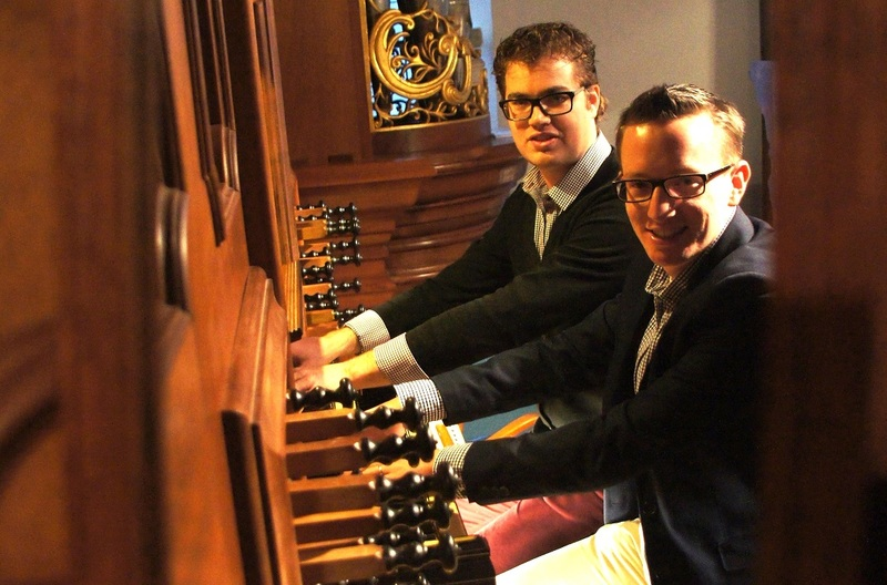 Jan Peter Teeuw and Marien Stouten - Famous orchestral works on organ according to old English tradition